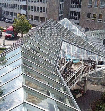 Glasdachsanierung
